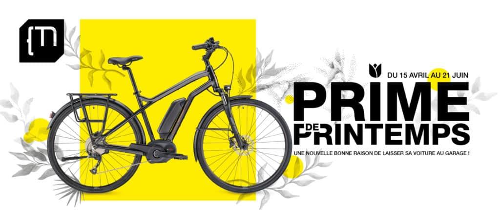Prime de Printemps Moustache Bikes