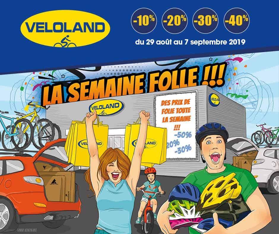 Semaine Folle 2019 Véloland Tours