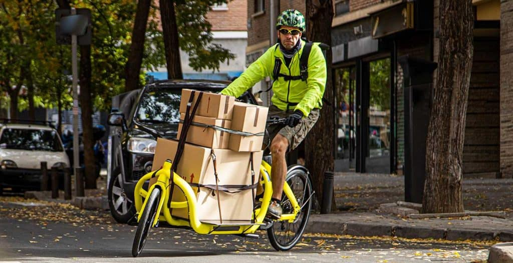 transport livraison veloland tours