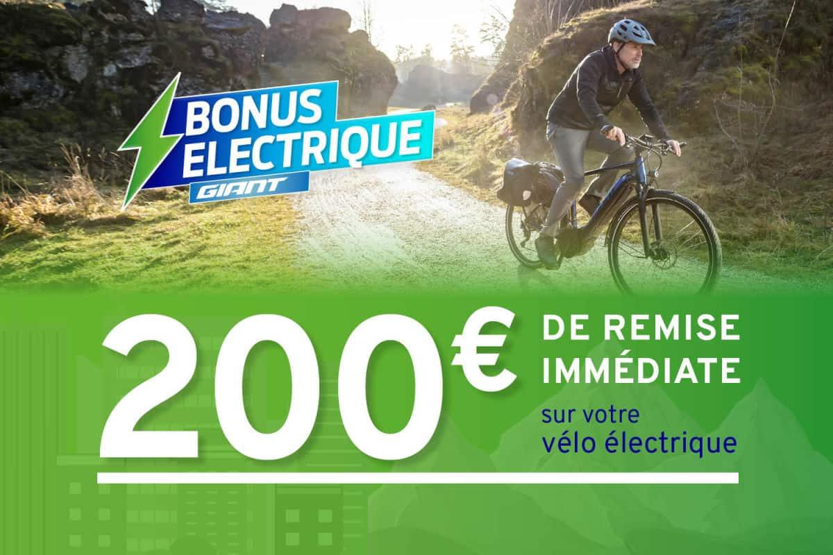 Bonus électrique Giant 2020